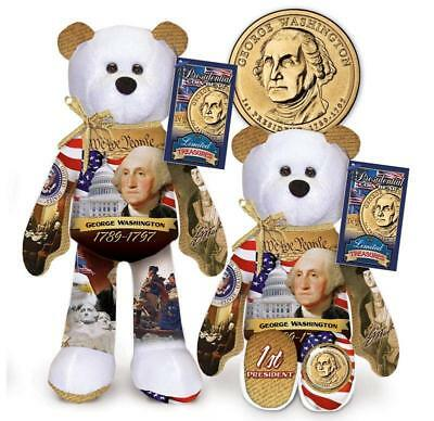 1st  36 President Dollar Coin bears by Limited Treasures