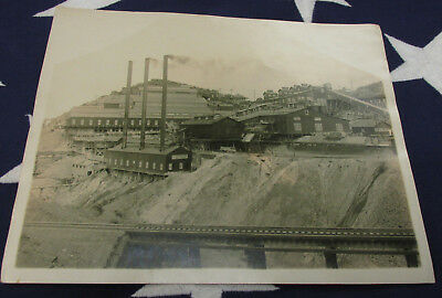 Antique Gold Mine Photo And A Certificate For Mine 1St Aid !!!