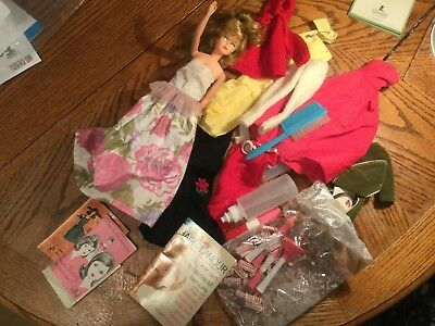 Vintage Tressy Fashion Doll and Accessories by American Character, Inc.