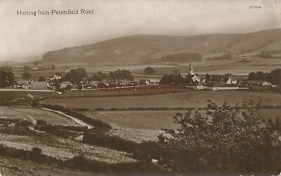 Sussex Harting from Petersfield Road Real Photo Vintage Postcard