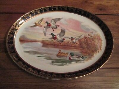 Royal Falcon Ware Weatherby Hanley Duck Platter 4-71 Made in England