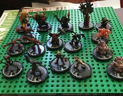 Your Choice Of 5 Mage Knight Figures Pieces