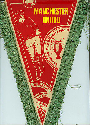 Wimpel 34 cm Manchester United