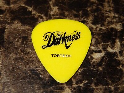 The Darkness Rare Guitar Pick Dan Justin Hawkins or Frankie Poullain Authentic