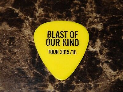 The Darkness Guitar Pick Dan or Justin Hawkins Blast Of Our Kind Tour 2015/2016