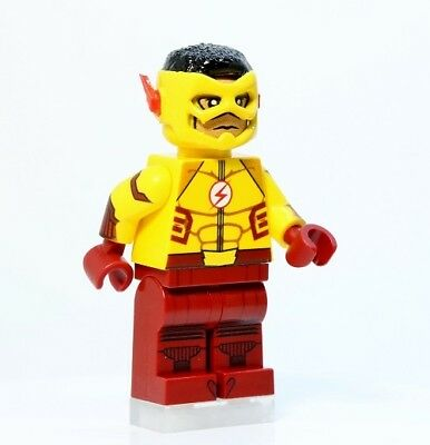 A1386 Lego CUSTOM PRINTED INSPIRED cw KID FLASH WALLY WEST MINIFIG Jesse Quick