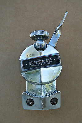60's Rogers CLOCK FACE SNARE DRUM STRAINER for YOUR SNARE DRUM and SET! #V938