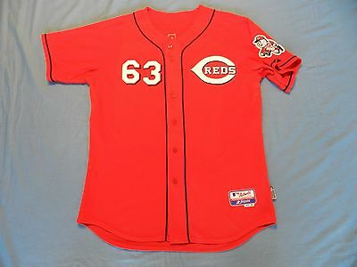 Chris Michalak 2006 Cincinnati Reds game used jersey