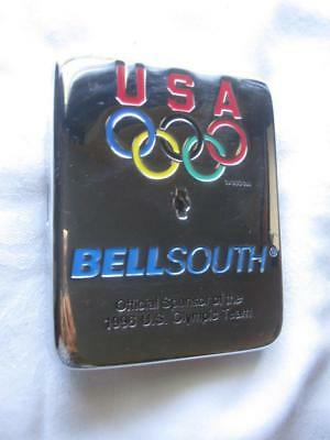 BELL SOUTH ~ 1996 Olympic Team ~ Payphone Vault Cover ~ New Old Stock