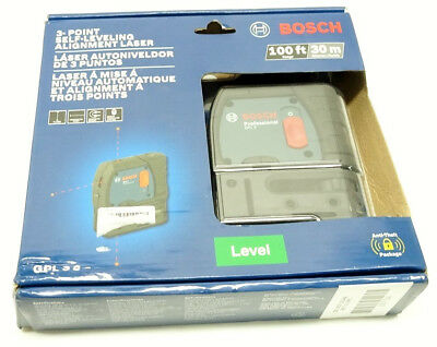 Bosch GPL 3 S 3-Point Self-Leveling Alignment Laser 4/B17996A