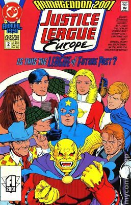 Justice League Europe (1990) Annual #2 VF