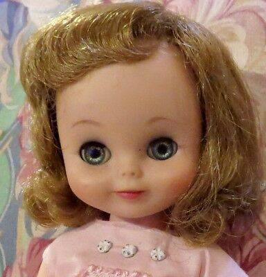 "Vintage 50's 13"" Hard to Find Blond Betsy McCall Doll w/Original Outfit"
