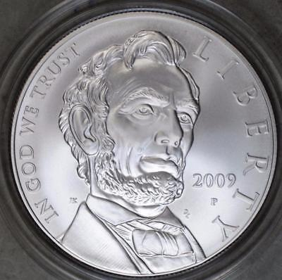 2009-P Abraham Lincoln Dollar Uncirculated Silver Coin