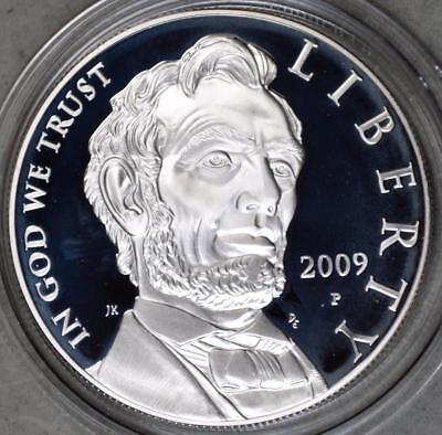 2009-P Abraham Lincoln Dollar Proof Silver Coin