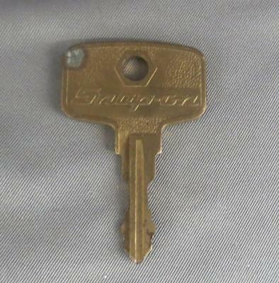 Brass Snap-On Tool Box Key