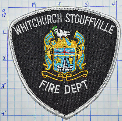 Canada, Whitchurch Stouffville Fire Dept Ontario Patch