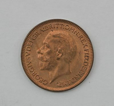 1935 Great Britain Farthing Foreign Coin *Q89