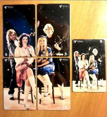 Chine - Groupe Style Abba - 1 Puzzle + 1 Recap.