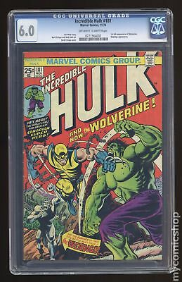 Incredible Hulk (1962-1999 1st Series) #181 CGC 6.0 0271564002