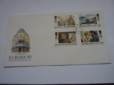 Guernsey Arcade Post Office 1990 FDC
