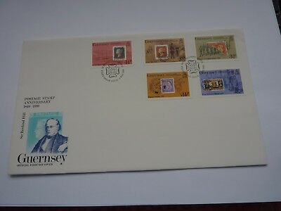 Guernsey Rowland Hill 1990 FDC