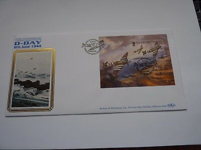 Guernsey D-Day 1994 Silk Issue FDC