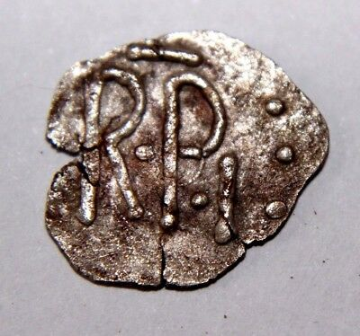 CAROLINGIANS Pépin'le Bref (the Short) King of the Franks 754-768 AD Silver Coin