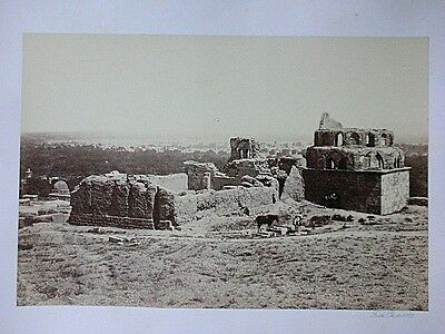 Francis FRITH, Original Fotografie 1857, Distant View Of Damascus