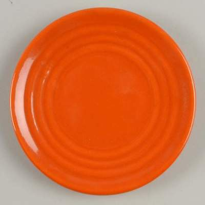Bauer RING ORANGE Bread & Butter Plate 1889637