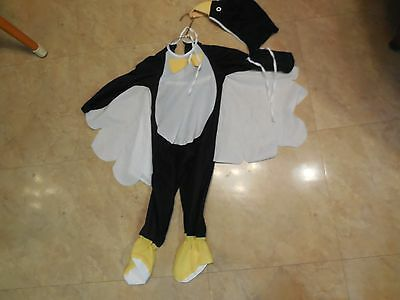 Toddler Peguin/  Black Bird Halloween Costume
