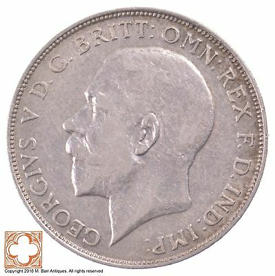 1923 Great Britain Florin King George V *5112
