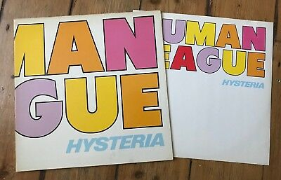 Human League : Hysteria . 10 Trk Lp From Storage . Virgin Records . VG