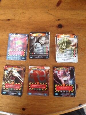 DOCTOR WHO - BATTLES IN TIME ( ULTIMATE MONSTERS )  x 50 TRADE CARDS  BBC 2008