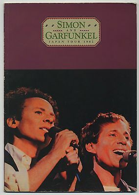 Simon And Garfunkel - Japan Tour 1982 JAPAN PROGRAM May 7-12 1982