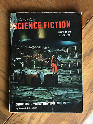 Astounding Science Fiction - US edition July 1950 - Heinlein's Destination Moon