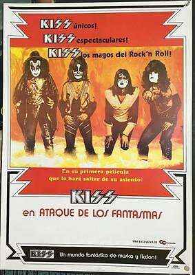 Kiss Attack of the Phantoms Kiss Meets the Phantom of the Park 1978 movie poster
