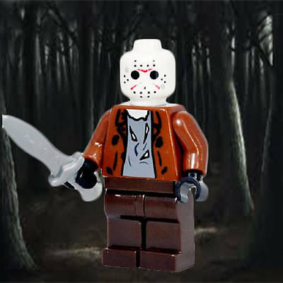 Jason Voorhees - Lego Compatible Minifigure Horror - Friday the 13th