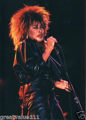 Tina Turner Photo 1985 Unique Unreleased Image 12 Inch Close Up Exclusive Photo