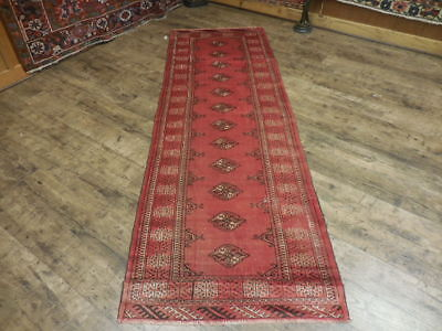 Ca1930s VE DY ANTIQUE PERSIAN QASHQAI TURKEMAN SERAPI 2.9x8.3 ESTATE SALE RUG