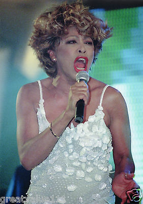 Tina Turner Photo 1996 Unique Unreleased Image Exclusive 12 Inch Close Up  Photo