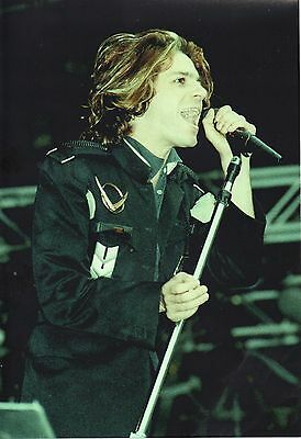 Michael Hutchence Inxs  Photo 1986 Unique Image Unreleased Huge 12Inch Exclusive