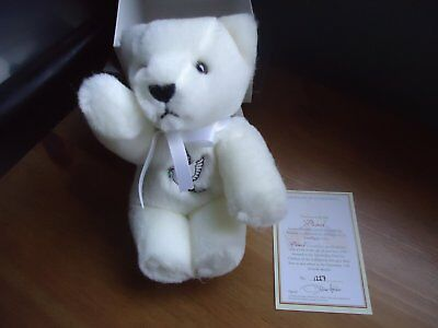 Merrythought Peace Bear no 1227 - Boxed with Certificate