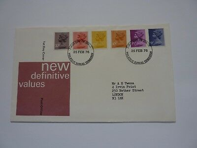 Definitive Issue 1976 (02) FDC