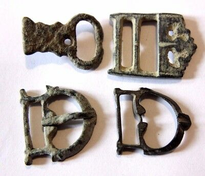 Roman Bronze Military Buckles Group 200-300 AD