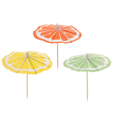 4 x 150pc Bamboo Cocktail Stick Sets Bar Party Wedding Drinks Fruit Meat Serving