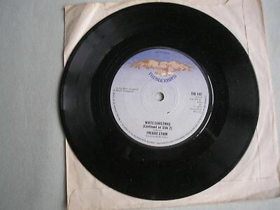 "FREDDIE STARR White Christmas UK 7"" single 1975 ex"