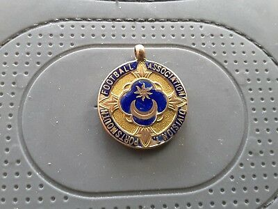 Portsmouth Football Association Division 1 GOLD WINNERS MEDAL 1928 - 29