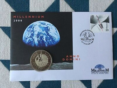 The Millennium £5 Coin First Day Cover