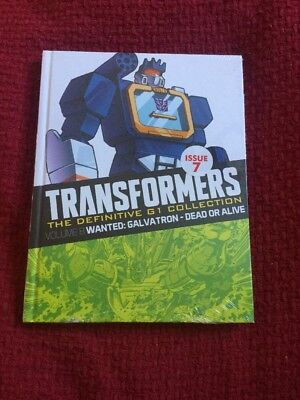 Transformers The Definitive G1 Collection - Volume 8 Wanted: Galvatron