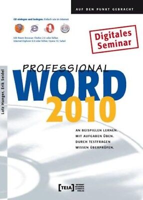 Word 2010 Professional, Lutz Hunger